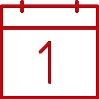 calendar with 1